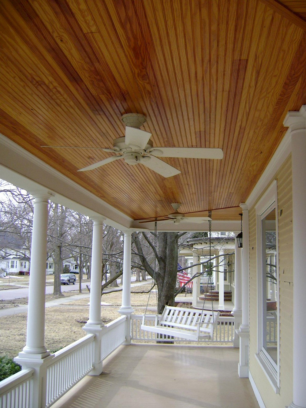 Tongue Groove Porch Ceiling